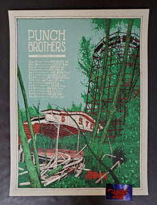 Landland Punch Brothers Spring Tour Poster Artist Edition 2015