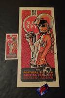 Lars Krause Black Keys Berlin Germany Poster Handbill AP 2012
