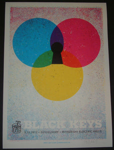Lars Krause Black Keys Dusseldorf Germany Poster 2012 Artist Edition S/N