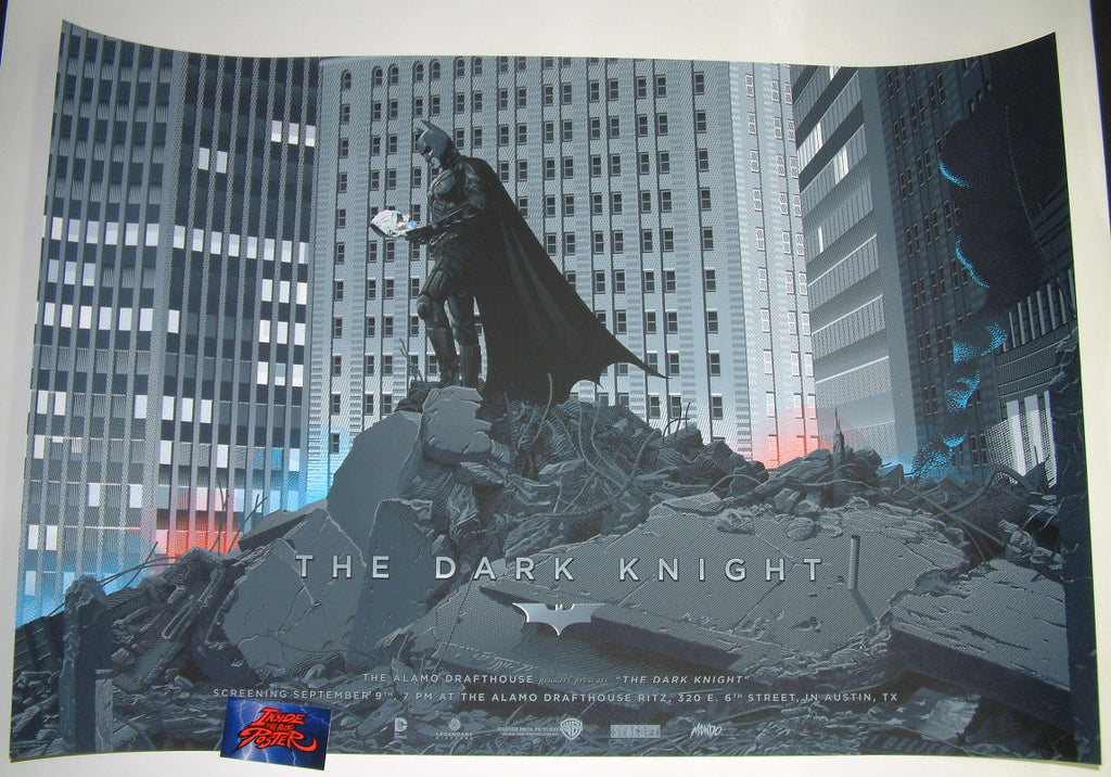 Laurent Durieux The Dark Knight Batman Movie Poster Variant 2016 Mondo