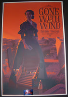 Laurent Durieux Gone With The Wind Movie Poster