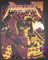 Laurie Greasley Metallica Denver VIP Poster Artist Proof