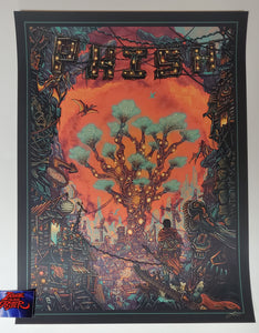 Luke Martin Phish Sigma Oasis You're Already There Poster Orange Variant Artist Edition 2020