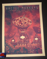 Luke Martin Arctic Monkeys Poster Houston Artist Edition 2018