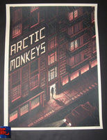 Luke Martin Arctic Monkeys Melbourne Poster Artist Edition 2019