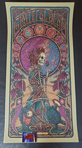 Luke Martin Grateful Dead Poster Purple Variant 2020