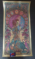Luke Martin Grateful Dead Poster Gold Foil Purple Variant 2020