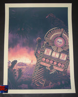 Luke Martin Nine Inch Nails Las Vegas Poster Artist Edition 2018