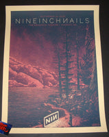 Luke Martin Nine Inch Nails Poster Phoenix 2018 Artist Edition