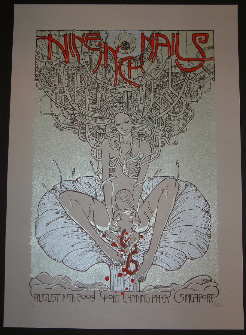 Malleus Nine Inch Nails Singapore Poster S/N | Inside the Poster