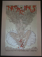Malleus Nine Inch Nails Singapore Poster S/N