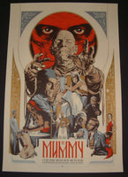 Martin Ansin The Mummy Horror Movie Poster Mondo 2012