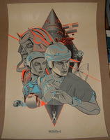 Martin Ansin Tron Movie Poster Mondo 2011