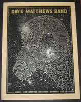 Methane Studios Dave Matthews Band Poster Commerce City 2013 Artist Edition S/N
