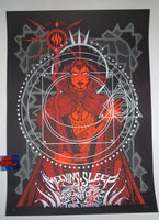 Malleus Sleep Melvins Los Angeles Sorceress Poster 2017 Artist Edition Night 2