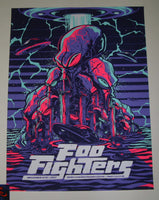 Mariano Arcamone Foo Fighters Poster Sioux Falls 2017 Artist Edition