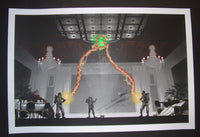 Mark Englert Ghostbusters The Flowers Are Still Standing Poster 2014