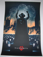 Marko Manev V For Vendetta Movie Poster 2013 Mondo