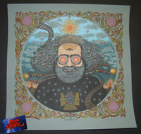 Marq Spusta Bicycle Day Art Print 2017 Jerry Garcia