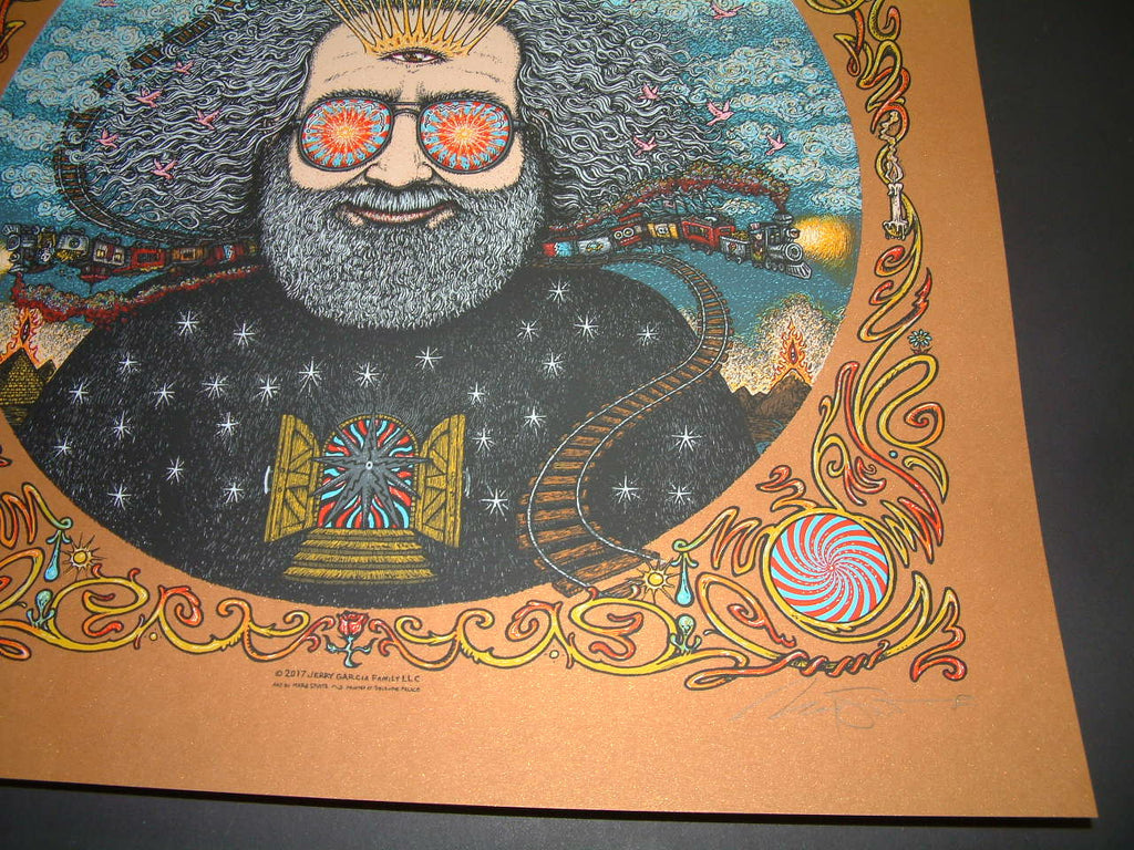 Marq Spusta Bicycle Day Art Print 2017 Jerry Garcia Artist