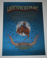 Marq Spusta Widespread Panic Poster Austin City Limits 2013 S/N