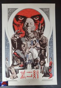 Martin Ansin The Mummy Movie Poster Hieroglyphics Variant 2011 Mondo