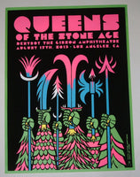 Kii Arens Martin Ontiveros Queens of the Stone Age Poster Los Angeles 2013