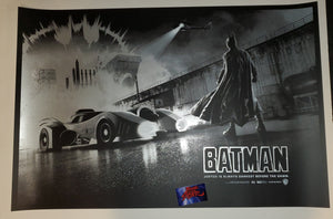 Matt Ferguson Batman 1989 Movie Poster Foil Variant 2019