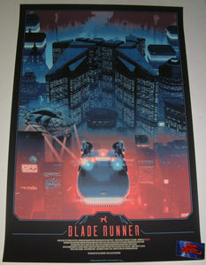Matt Ferguson Blade Runner Movie Poster Glow in the Dark 2018