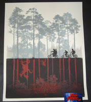 Matt Ferguson Stranger Things The Upside Down Poster Variant 2016