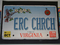 Matt Leunig Eric Church Poster Fairfax 2012 Signed Artist Proof