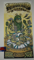 Matt Leunig Widespread Panic Poster Milwaukee 2017 Artist Edition Night 1