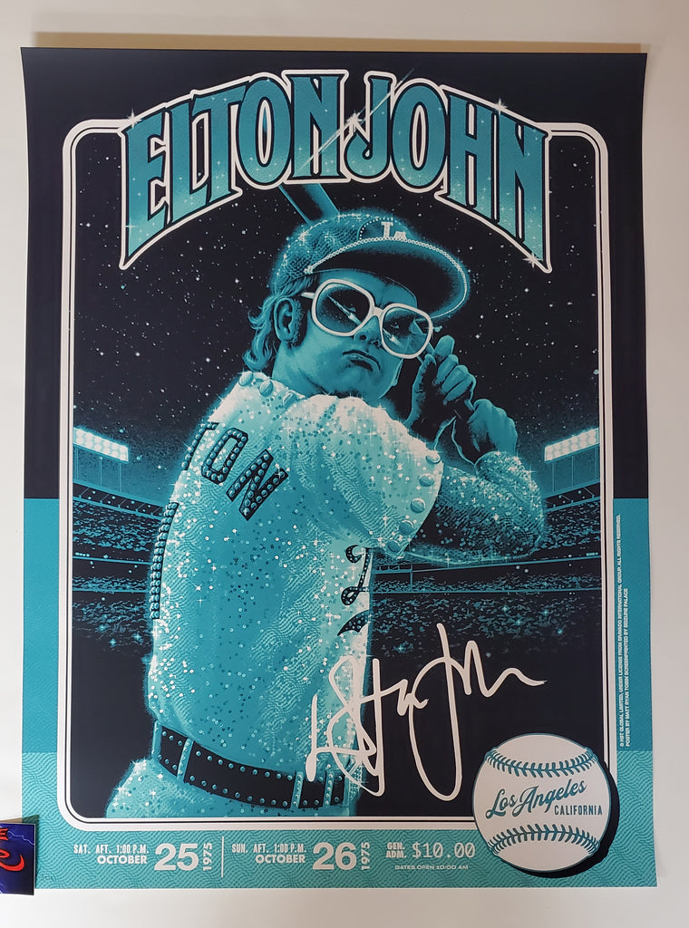 Matt Ryan Tobin Elton John 1975 Los Angeles Poster 2020