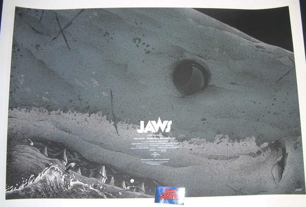 Matt Ryan Tobin Jaws Movie Poster 2016 Mondotees