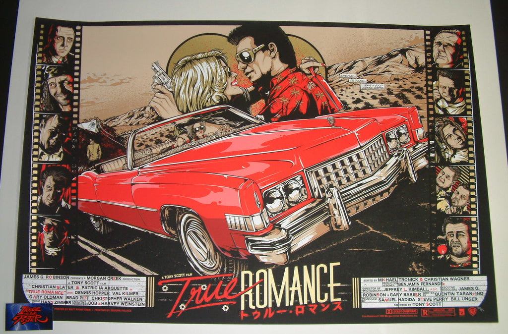 Matt Ryan Tobin True Romance Movie Poster 2014