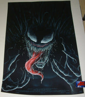 Matt Ryan Tobin Venom Movie Poster Mondo 2018