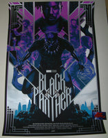 Matt Taylor Black Panther Movie Poster Variant Mondo 2018