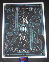 Matthew Jacobson Jack White Poster Las Vegas 2018 Joker Night One