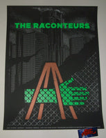 Matthew Jacobson The Raconteurs Detroit Poster Artist Edition 2019