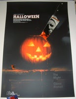 Matthew Peak Halloween Movie Poster 2017 Artist Proof