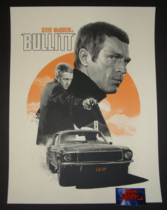 Matthew Woodson Bullitt Movie Poster 2017 Artist Edition Mondo
