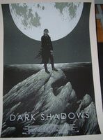 Matthew Woodson Ghostco Dark Shadows Movie Poster Mondo 2012