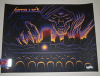 Maxx242 Metallica Poster Austin City Limits Fest Night One 2018 Artist Edition