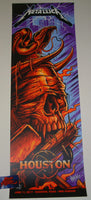 Maxx242 Metallica Poster Houston 2017 Artist Edition