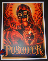Maxx242 Puscifer Richmond Poster 2016 Artist Edition