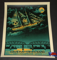 Methane Studios Dave Matthews Band Albany Poster 2018 Artist Edition