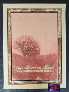 Methane Studios Dave Matthews Band Bristow Poster Drive In 2008 2020