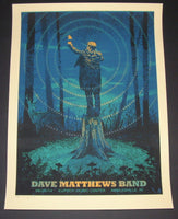 Methane Studios Dave Matthews Band Poster Noblesville 2014 Artist Edition