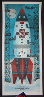Methane Studios Dave Matthews Band Poster Noblesville 2015 Artist Edition