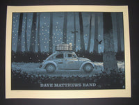 Methane Studios Dave Matthews Band Poster Berkeley 2014 Night 3 Artist Edition